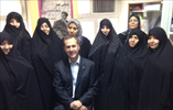 October 2015 - with group of health volunteers at Torab primary health care centre in Tehran